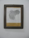 pencil on paper in hard wood frame, a5, 2012