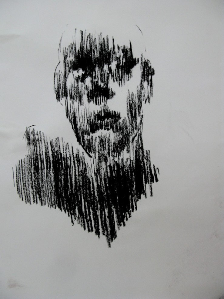 charcoal on paper, a2, 2013