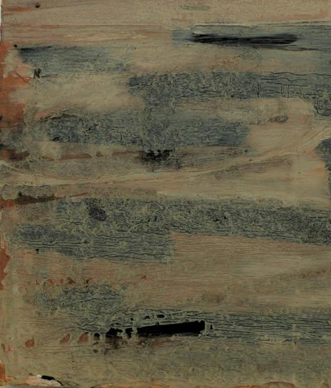 oil on reclaimed wood, 260 x 450 x 20 mm, 2013