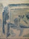 oil, sand & gloss on reclaimed wood, 760 x 260 mm, 2013