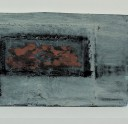 oil on reclaimed wood, 260 x 970 x 20 mm, 2013