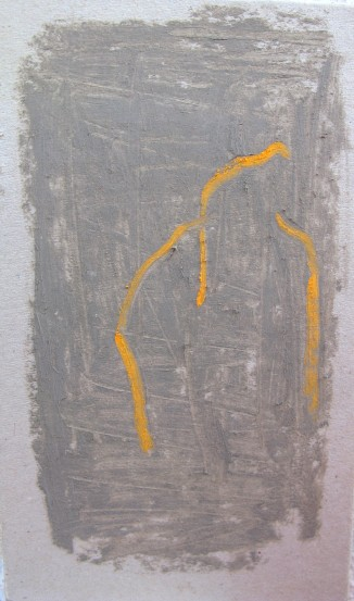 pastel on card, 105 x 185 mm, 2013