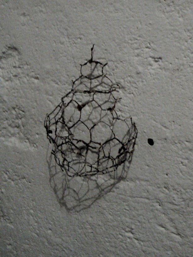 chicken wire, rust plus, 10 x 10 x 9 cm, 2013