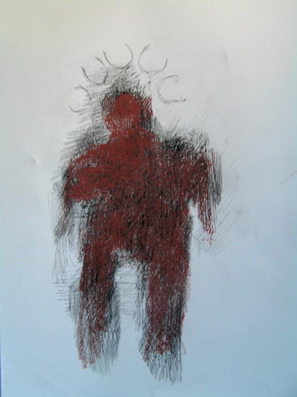 pencil, graphite & pastel, 297 x 210 mm, 2013