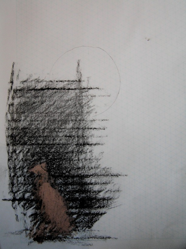 graphite, pencil & oil pastel, 297 x 210 mm, 2014