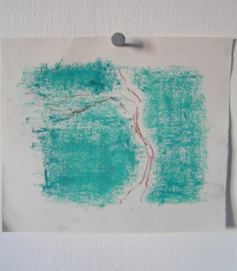 pencil, graphite &oil pastel, 145 x 170 mm, 2014