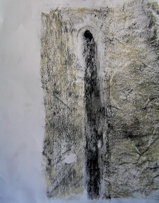 pencil, graphite &oil pastel, 297 x 210 mm, 2014