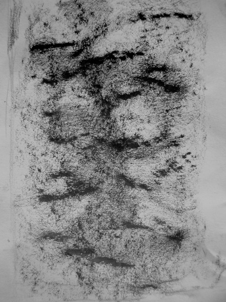 graphite in sketchbook, a5, 2013