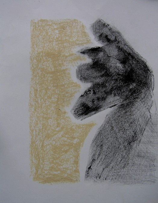 pencil and pastel on paper, 210 x 297 mm, 2014