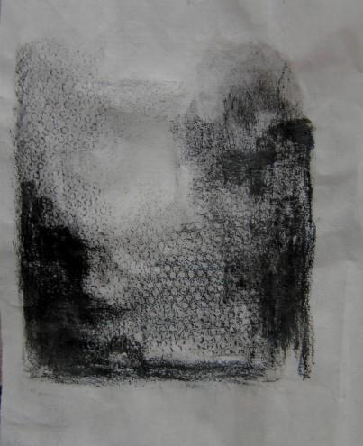 pencil & pastel on paper, 190 x 80 mm, 2014