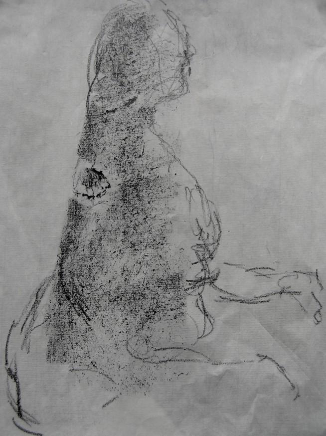 graphite on paper, 260 x 220 mm, 2014