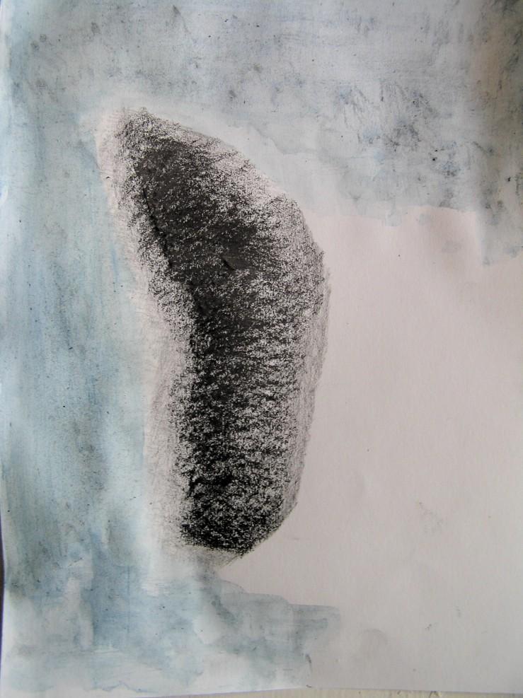 pencil, graphite & watercolour, 297 x 210 mm, 2013