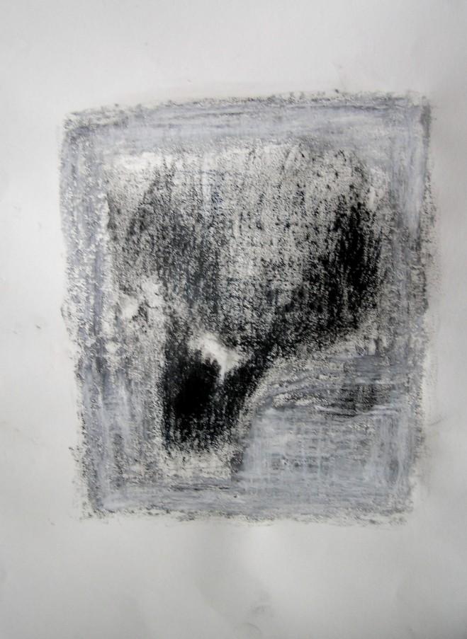 pencil, graphite & oil pastel on paper, 297 x 420 mm, 2014