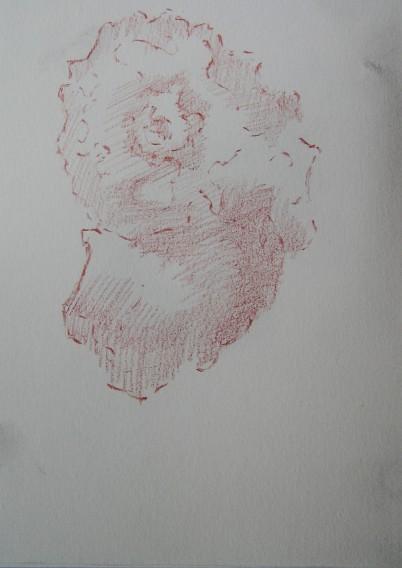 pencil in sketchbook, A5, 2014