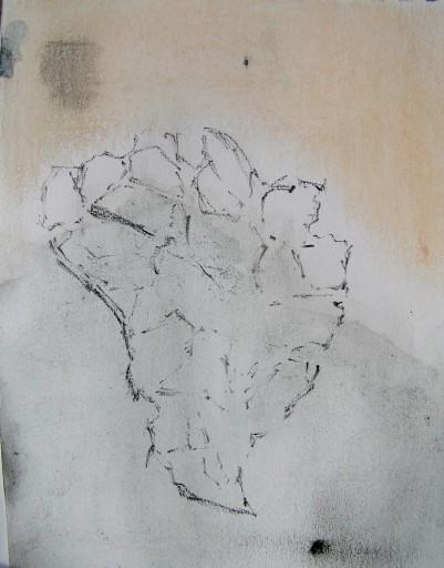oil pastel, graphite, watercolour, and pencil, a5, 2015