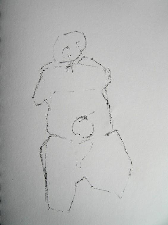 graphite on paper, a4, 2015